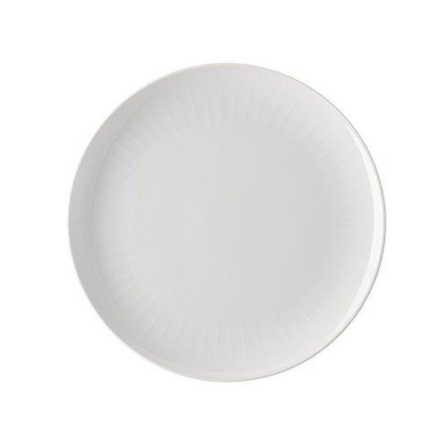 Arzberg Joyn White Assiette plate en porcelaine Blanc 27 x 26 x 8 cm