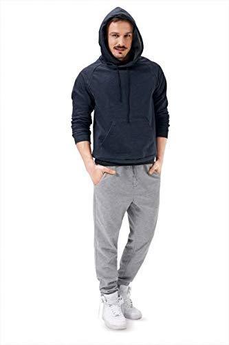 Burda 6718 Schnittmuster Sweater Hoody (Herren, Gr. 46 - 56) Level 1 super easy