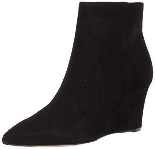 NINE WEST Women's Ankle Bootie Boot, Black, 6