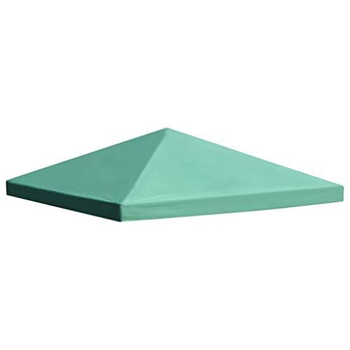 Tidyard- Copertura Gazebo, Copertura Superiore per Gazebo 310 g/m² 3x3 m Verde