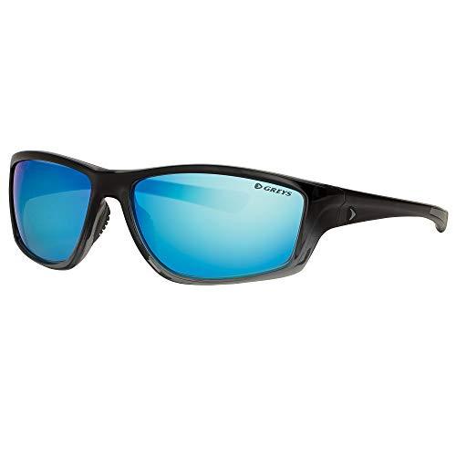 Greys Polarisiert Angel-Sonnenbrillen g1 G2 G3 G4 Angeln Brille neu 2018 - G3 Glanz blk verblassen / blau Spiegel, G3 GLOSS BLK FADE/BL MIRROR