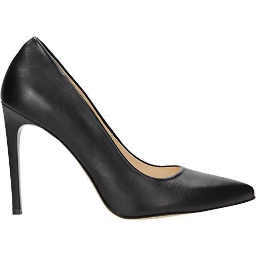 Zapatos de tacón para Mujer de Piel 835751, Color Negro, Talla 38 EU
