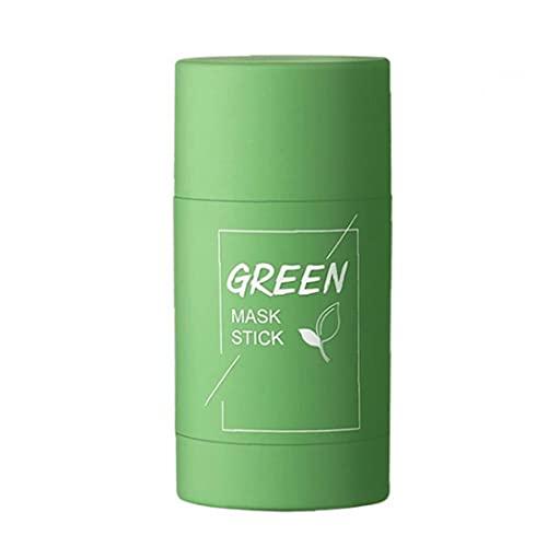 Dekking Gezicht Skin Care Gezichtsverzorging Dekking Coverskin Facial Cleanser Moisturizing Gezicht Pori Whitening Moisturizer Green Tea Purifying Clay Stick to Face