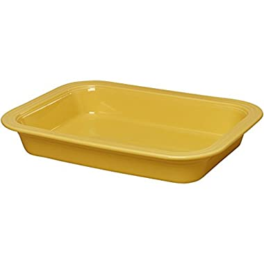 Fiestaware 9  x 13  Lasagna Pan (Sunflower Yellow)