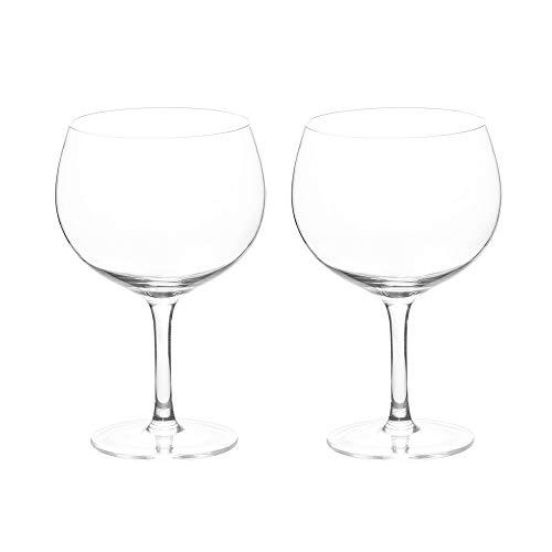 ProCook - Lot de Verres/Ballons à Gin en Cristal - 2 Pièces