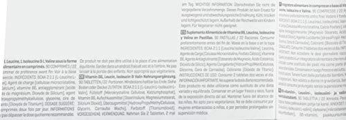 Myprotein BCAA Plus 1000 mg- 90 Tabletten, 1er Pack (1 x 91 g) - 6