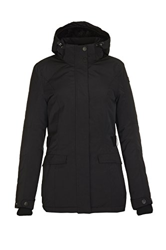 Killtec Ellika functionele jas voor dames, outdoorjas, winterjas met afritsbare capuchon