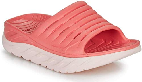 Hoka One One Ora Recovery Slide Zuecos Mujeres Rosa - 36 - Zuecos (Mules) Shoes