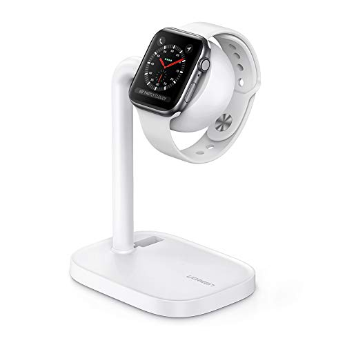 UGREEN Stand Compatible for Apple Watch Desktop iWatch Charging Stand Holder with Night Stand Mode for Watch Series 6 SE 5 4 3 2 1