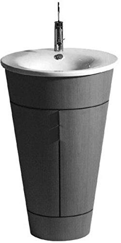 Duravit wastafel Starck 1 58cm 1 kraangat, voor WTU 9520, wit WonderGliss 4065800001