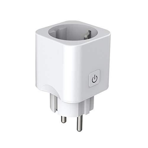 Creazy Smart Mini WiFi Plug Outlet Switch Work with ForEcho Alexa/Google Home Remote EU