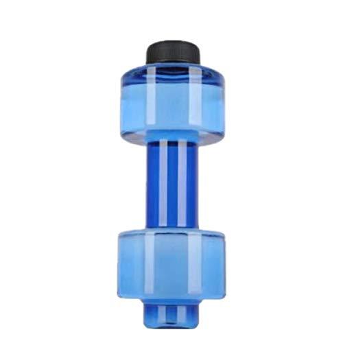 Botella Deportiva, Copa con Mancuernas 550Ml, Botella Deportiva De Moda para Fitness, Taza Plástica De Agua con Personalidad