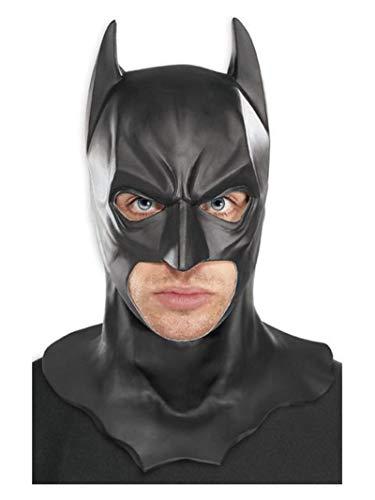 Rubie's Batman Dark Knight, Máscara de Batman Dark Knight para adultos, Negro, talla única