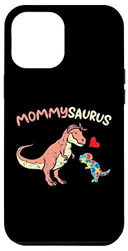 iPhone 12 Pro Max Mommysaurus Puzzle Dinosaur Autism Awareness Mom Mama Women Case