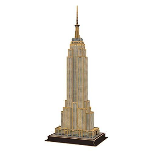 Quebra-cabeça 3d Empire State Buiding - Brinquedos Chocolate