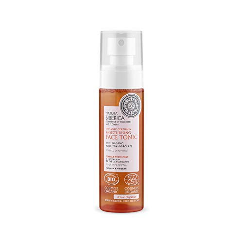 Natura Siberica Organic Certified Moisturising Face Tonic For All Skin Types, 100 ml