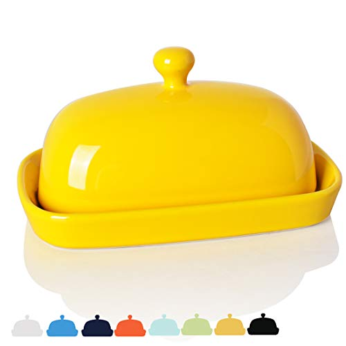 Sweejar Ceramics Butter Dish with lid keeper