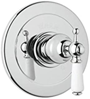 Rohl U.1000L-IB Perrin and Rowe Bath Trim for Pressure Balanced Concealed Bath or Shower Mixer without Diverter Lever Handle Inca