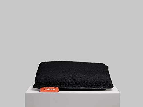 Stoov One | Woolly beheiztes Sitzkissen Woolly Black