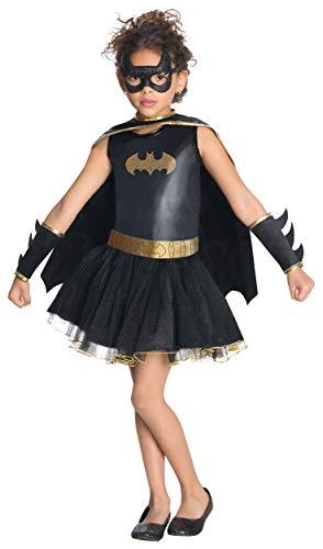 Rubie's-déguisement officiel - Batman - Déguisement Costume Batgirl Robe avec Tutu Enfant - Taille M- I-881626M