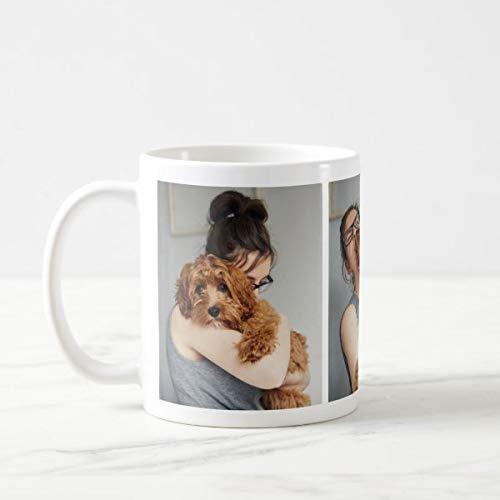Yilooom Cute Cup Present, adorable taza de café para amantes de perros, 11 oz
