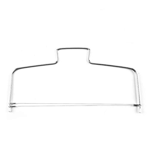 Adjustable Wire Cake Leveler Pizza Dough Cutter Tools Stainless Cake Tangent (Sliver)