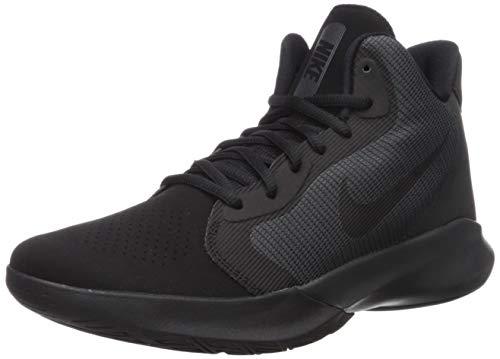 Nike Precision III Nubuck Basketball Shoe, Black/Black-Anthracite, 7 Regular US