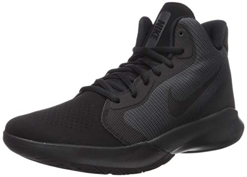 Nike Precision III Nubuck Basketball Shoe, Black/Black-Anthracite, 11 Regular US