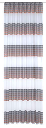 Home Fashion Fertigschal, Stoff, Kupfer, 245 cm x 140 cm
