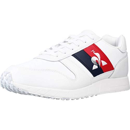 Le Coq Sportif JAZY Classic Flag, Zapatillas Hombre, Optical White, 40 EU