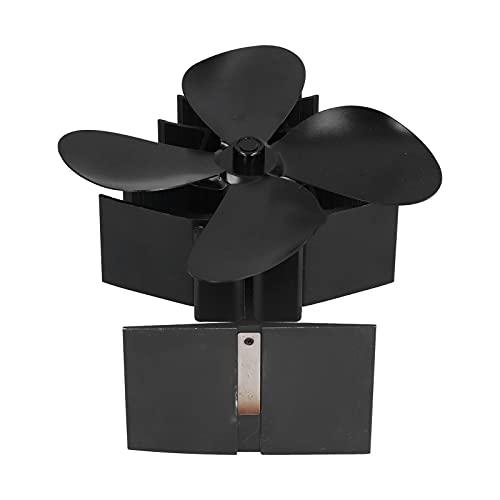 Ventilador De Chimenea Con Energía Térmica, Aumento De La Circulación De Aire Ventilador De Estufa Con Energía Térmica El Ruido De Trabajo Muy Silencioso Es Inferior A 25 DB Para Ajustar La