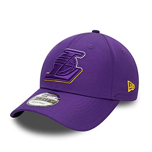 New Era Los Angeles Lakers cap NBA Basecap verstellbar 9Forty Basketball Kappe Two Tone Lila - One-Size