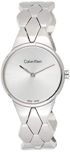 Calvin Klein Reloj Analogico para Mujer de Cuarzo con Correa en Acero Inoxidable K6E23146