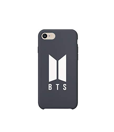 BTS Rap Music Legend Logo_MA1025 Case for Compatible with iPhone 6 7 8 X Galaxy S8 Note 8 Huawei Hülle Kompatibel mit Schutzhülle aus Hartplastik