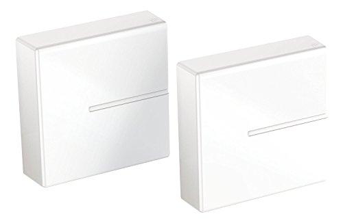 Meliconi Ghost Cube Cover Sistema Copricavi Componibile, Bianco