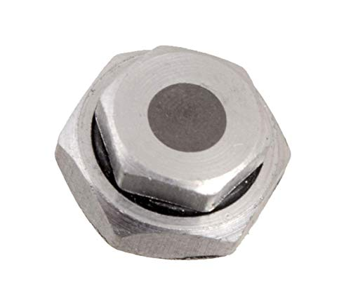 Prestige ClipOn Mini Safety Valve for Clip On Stainless Steel & Hard Anodised Aluminum Pressure Cookers, silver, Small