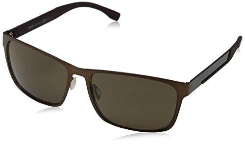 Hugo Boss Boss 0662/S K8 NOY Gafas de Sol, Mujer, Marrón (BW Black Wood Nude/Brown SF), 49