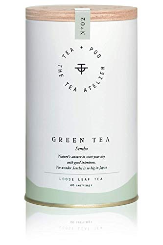 No.02 Green Tea - Grüner Tee - Sencha - Bio - 80...