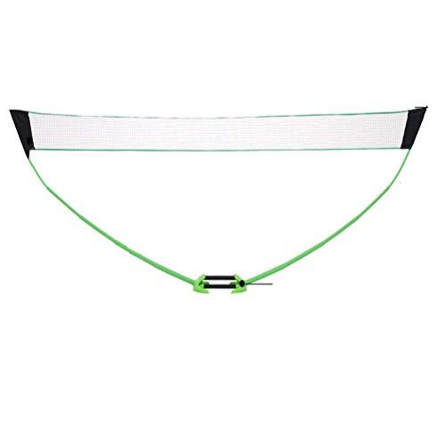 YXZQ Badminton Net, Volleyball Net Tennis Net Training Standard Badminton Folding Einstellbar für Outdoor, Park, Spielplatz und so weiter 4,8 m * 1,55 m
