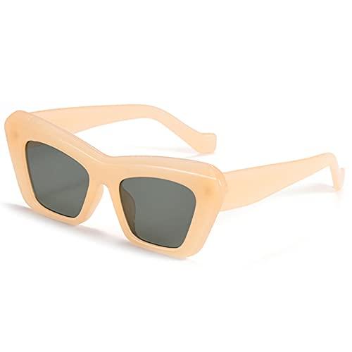 LUOXUEFEI Gafas De Sol Gafas De Sol Mujer Señoras Gafas Accesorios Mujer Sol Negro