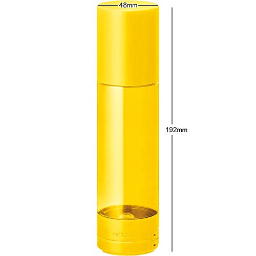 キングジムペンケース倒れないペン立てオクトタツ黄色2564キイ