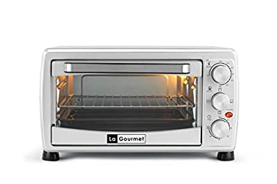 La Gourmet Toaster Oven - 18L Toast Bake Broil Grill