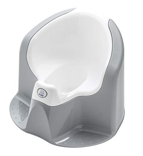 Rotho Babydesign TOP Xtra Pot Enfant Confortable, Avec Cuvette amovible, À partir de 18 mois, Stone Grey (Gris), 20504029301