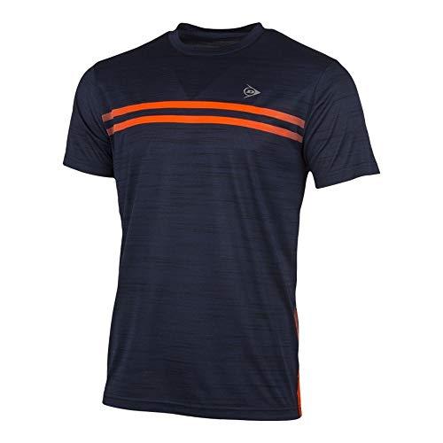 K-Swiss Performance heren D Ac Performance Mns Crew Tee-dark Navy Mel/Oranje T-shirt