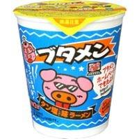 おやつカンパニー ブタメン タン塩味ラーメン 即席カップ麺 30個入り1BOX
