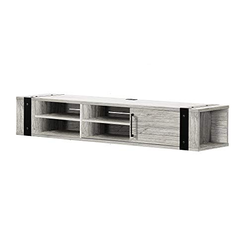 """South Shore TV Stand, 75"""", Seaside Pine"""
