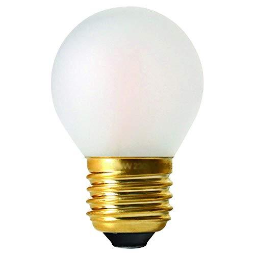 Girard Sudron 28673-LED G45 Ampoule LED à filament en forme de balle de golf Culot E27 Blanc chaud givré 580 lm 5 W