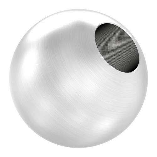 Edelstahlkugel massiv ø 25mm, mit 10,2mm Durchgangsbohrung