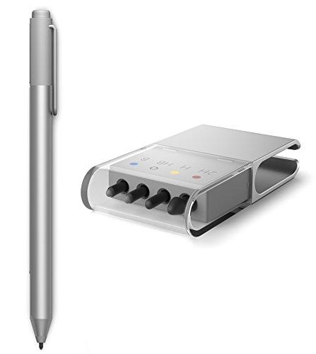 Preisvergleich Produktbild Microsoft Surface Pen silber inkl. Pen Tip Kit
