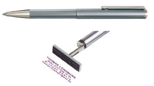 Heri Stempelkugelschreiber Classic silber